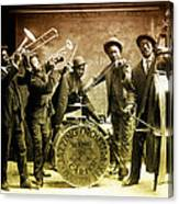King Carter Jazzing Orchestra Canvas Print