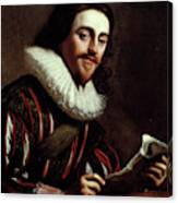 King Charles I Of England (1600-1649) Canvas Print