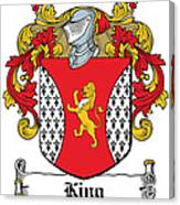 King Coat Of Arms I Dublin  Canvas Print