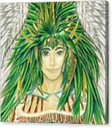 King Crai'riain Portrait Canvas Print