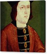 King Edward Iv Of England Canvas Print