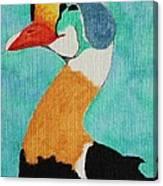 King Eider Canvas Print