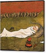 King Hobgoblin Sleeping Canvas Print