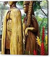 King Kamehameha Canvas Print