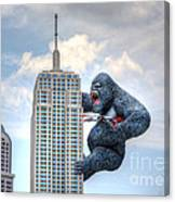 King Kong Comes To Myrtle Beach Canvas Print