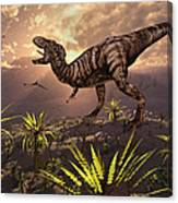 King Of The Dinosaurs.. A T.rex Canvas Print