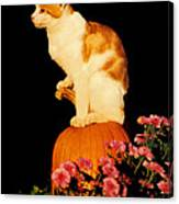 King Of The Pumpkin Canvas Print