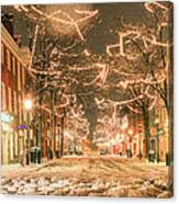 King Street Canvas Print