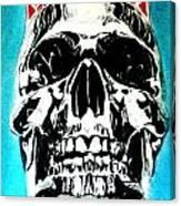 King Til Death Canvas Print