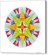 Kingdom Mandala Canvas Print