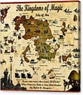Kingdoms Of Magic Battle Map Canvas Print