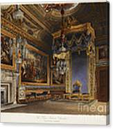 King's Audience Chamber, Windsor Castle Canvas Print