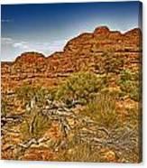 Kings Canyon-the Rim V2 Canvas Print