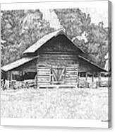 King's Mountain Barn Canvas Print