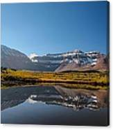 Kings Peak And The Pond Canvas Print