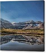 Kings Peak And The Pond Sinister Canvas Print