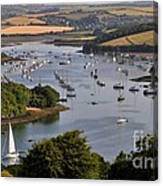 Kingsbridge Estuary Devon Canvas Print