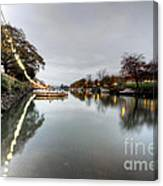 Kingsbridge Reflections  Canvas Print