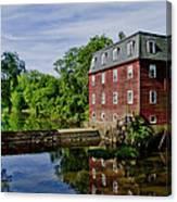 Kingston Mill Near Princeton New Jersey Canvas Print