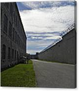 Kingston Penitentiary View To The Sallyport Canvas Print