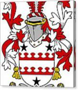Kinnane Coat Of Arms Irish Canvas Print