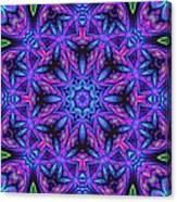 Kinnersley Vine Mandala Canvas Print