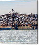 Kinnickinnic River Swing Bridge Canvas Print