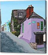 Kinsale Corner Shop Canvas Print