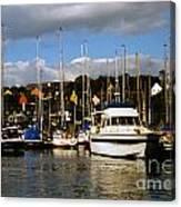 Kinsale Yacht Club Canvas Print