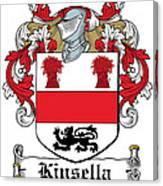 Kinsella Coat Of Arms Irish Canvas Print