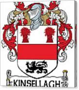 Kinsellagh Coat Of Arms II Irish Canvas Print