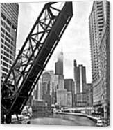 Kinzie Street Bridge Canvas Print