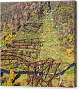 Kinzua Bridge Collapse Canvas Print