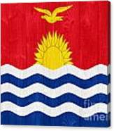Kiribati Flag Canvas Print