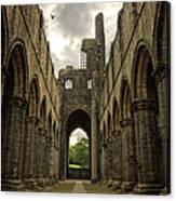 Kirkstall Abbey Canvas Print