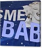 Kiss  Me Baby Canvas Print