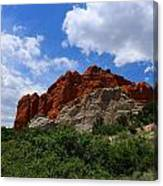 Kissing Camels - Garden Of The Gods Canvas Print