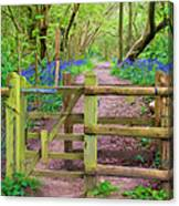 Kissing Gate Painting. Canvas Print