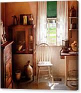 Kitchen - A Cottage Kitchen  Canvas Print