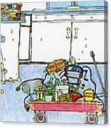 Kitchen Caddy Canvas Print