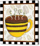 Kitchen Cuisine Hot Cuppa No14 By Romi And Megan Canvas Print