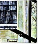 Kitchen Door At Alice Brock's Canvas Print