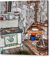 Kitchen Intime Canvas Print