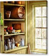 Kitchen - Kitchen Necessities Canvas Print