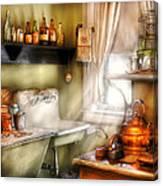 Kitchen - Momma's Kitchen  Canvas Print
