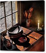 Kitchen - On A Table II  Canvas Print