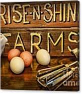 Kitchen  Rise And Shine Canvas Print