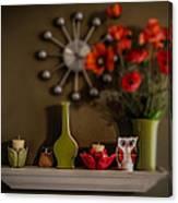 Kitchen Shelf  Canvas Print