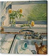 Kitchen Sink Canvas Print