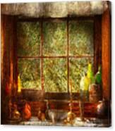 Kitchen - Table Setting Canvas Print
